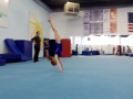 tumbling in gym