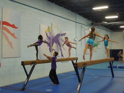 Recreational Gymnastics for Kids