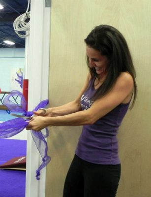 gym and dance school ribbon cutting opening