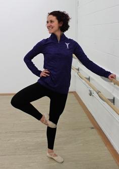 Gymnastics Dancer in Studio