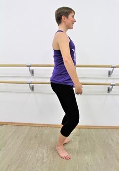 Female Dance Instructor Training Plié